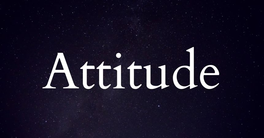 ATTITUDE STAUTS IN ENGLISH