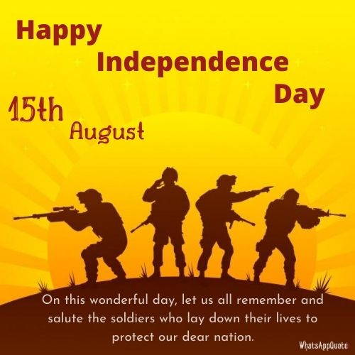 independence day quotes for our soldiers
