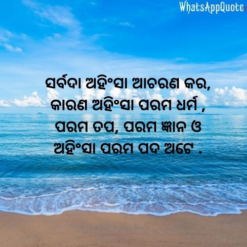 best odia quote with image