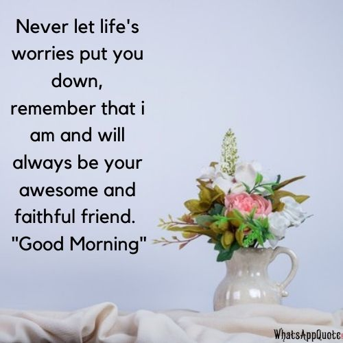 good morning messages for whatsapp dp