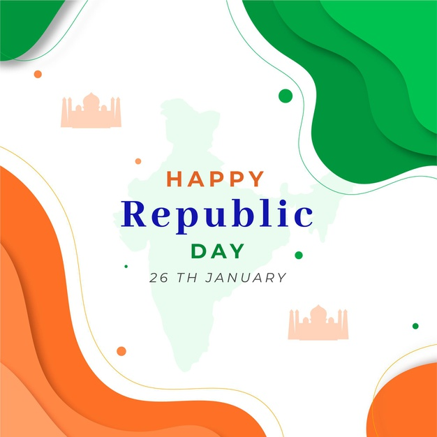 Abstract tricolor indian grunge flag for republic day photos Downlods