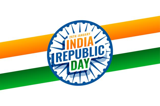 Tricolor ribbon and india famous monuments hd Images Downlods