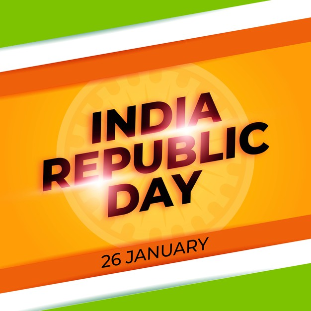 Flat design indian republic day hd images Free Download