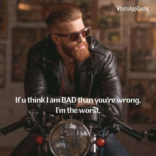 Handsome bearded man in leather jacket and sun glasses.