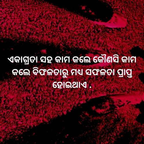 odia hard work quote image download