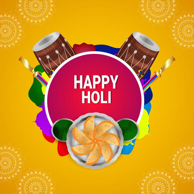 holi messages for love