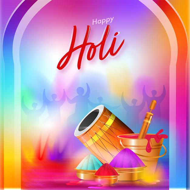 happy holi wishes status for family in hindi