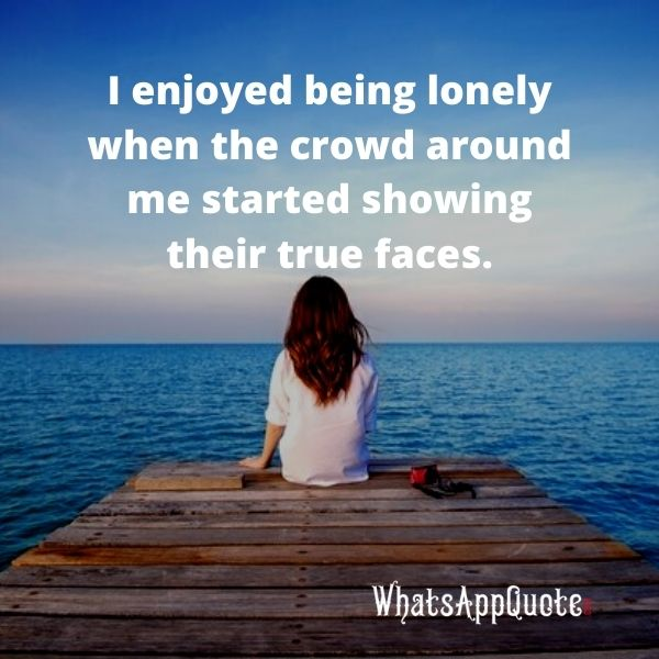 alone quotes in english short