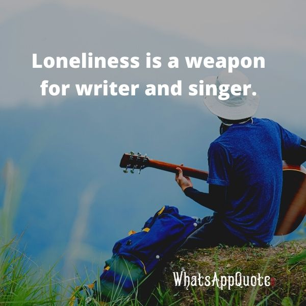 feeling alone quotes in english